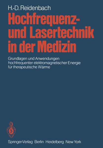 Hochfrequenz- und Lasertechnik in der Medizin - Coverbild
