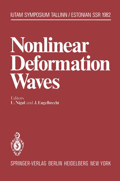 Nonlinear Deformation Waves - Coverbild
