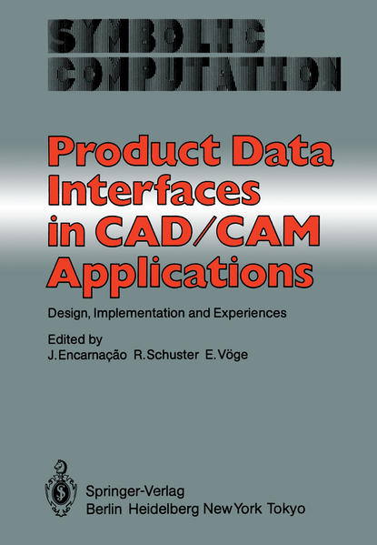 Product Data Interfaces in CAD/CAM Applications - Coverbild