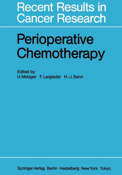 Perioperative Chemotherapy - Coverbild