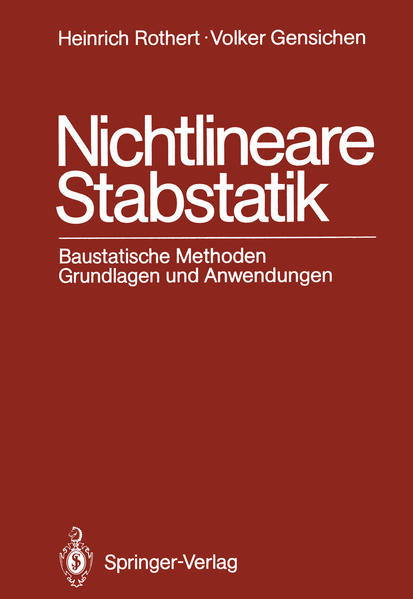 Nichtlineare Stabstatik - Coverbild