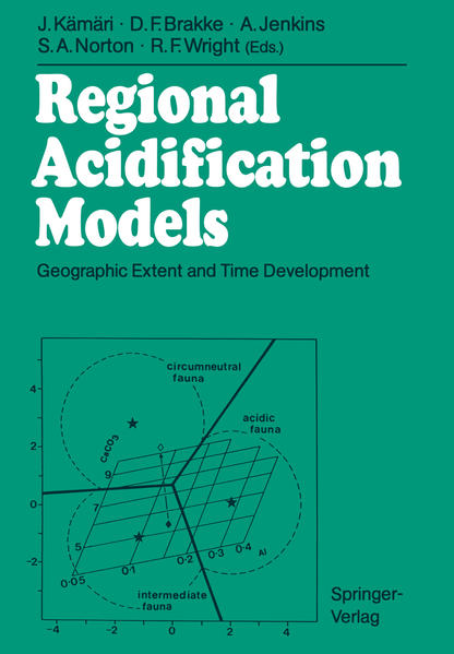 Regional Acidification Models - Coverbild