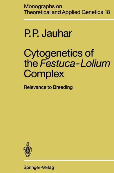 Cytogenetics of the Festuca-Lolium Complex - Coverbild