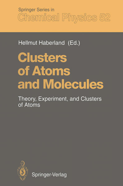 Clusters of Atoms and Molecules - Coverbild