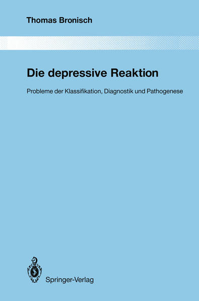 Die depressive Reaktion - Coverbild