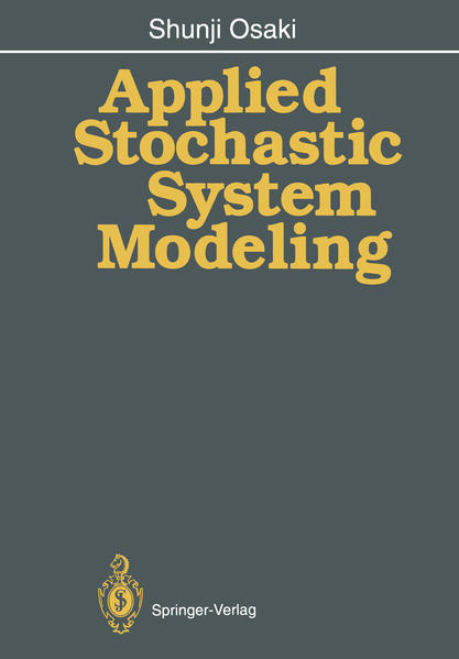 Applied Stochastic System Modeling - Coverbild