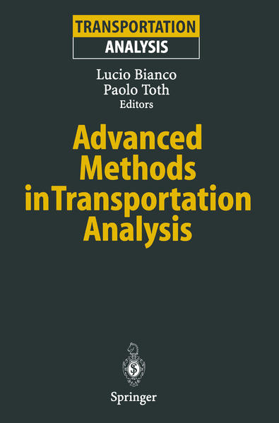 Advanced Methods in Transportation Analysis - Coverbild