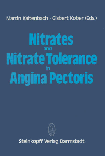 Nitrates and Nitrate Tolerance in Angina Pectoris - Coverbild
