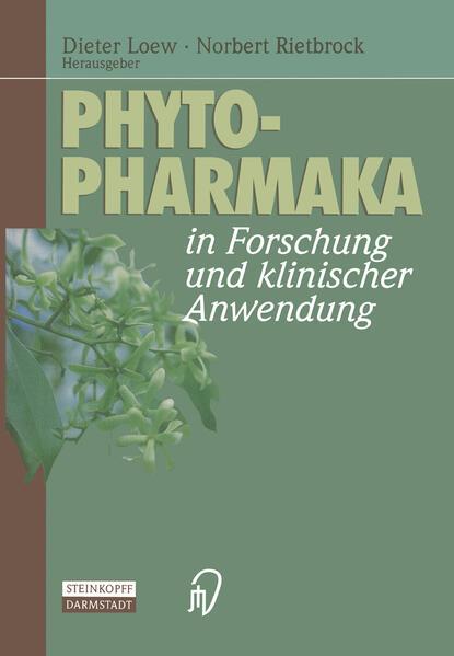 Phytopharmaka in Forschung und klinischer Anwendung - Coverbild