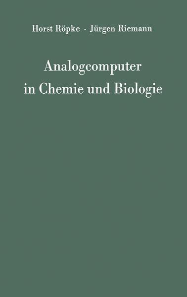 Analogcomputer in Chemie und Biologie - Coverbild