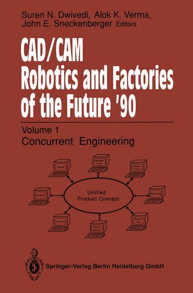 CAD/CAM Robotics and Factories of the Future '90 - Coverbild