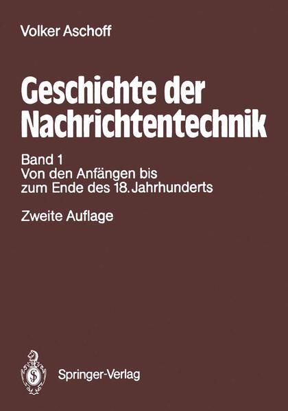 Geschichte der Nachrichtentechnik - Coverbild