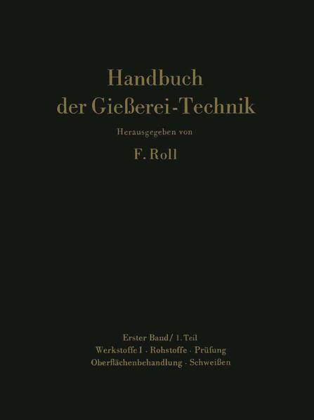 Handbuch der Gießerei-Technik - Coverbild