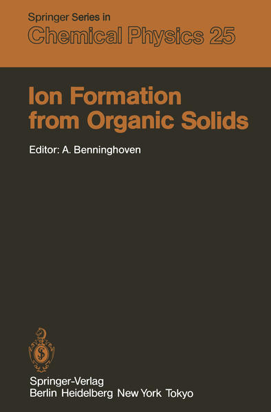 Ion Formation from Organic Solids - Coverbild
