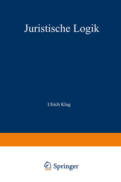 Juristische Logik - Coverbild