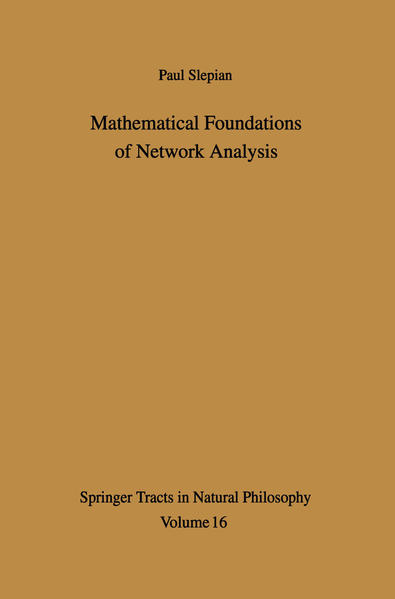 Mathematical Foundations of Network Analysis - Coverbild