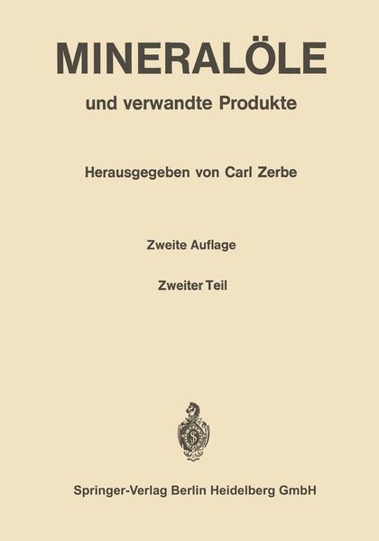 Mineralöle und verwandte Produkte - Coverbild