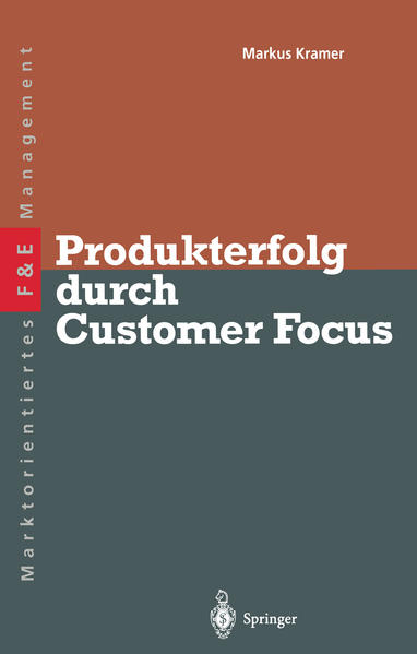 Produkterfolg durch Customer Focus - Coverbild