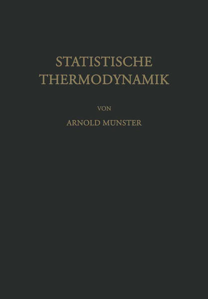 Statistische Thermodynamik - Coverbild