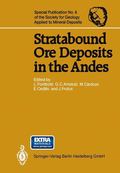 Stratabound Ore Deposits in the Andes - Coverbild