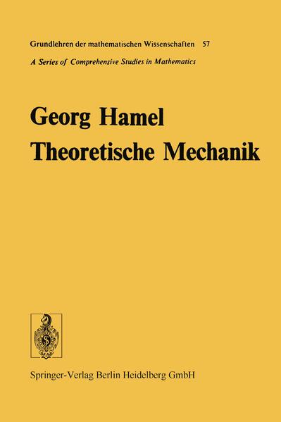 Theoretische Mechanik - Coverbild