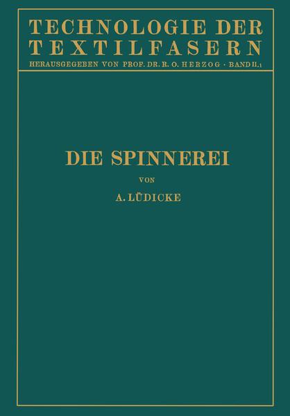 Die Spinnerei - Coverbild