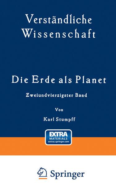 Die Erde als Planet - Coverbild