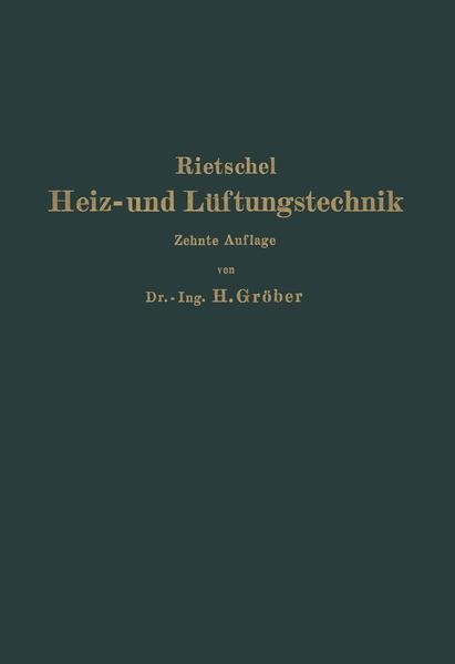 H. Rietschels Leitfaden der Heiz- und Lüftungstechnik - Coverbild