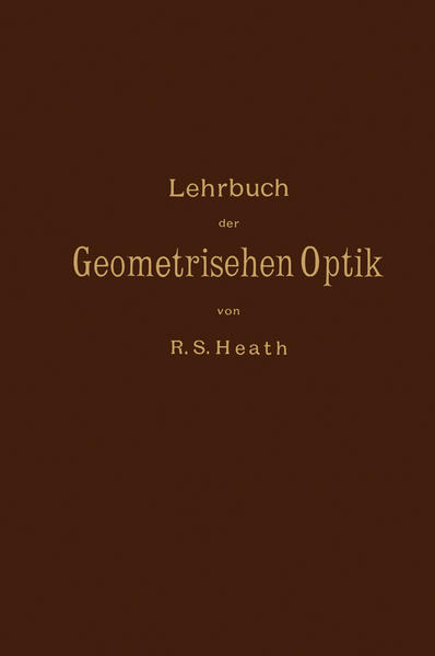Lehrbuch der Geometrischen Optik - Coverbild