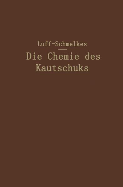Die Chemie des Kautschuks - Coverbild