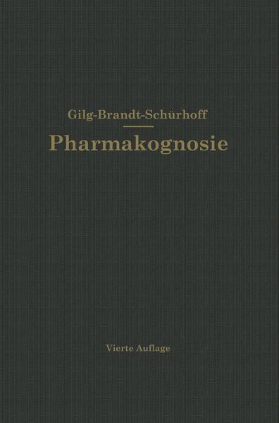 Lehrbuch der Pharmakognosie - Coverbild