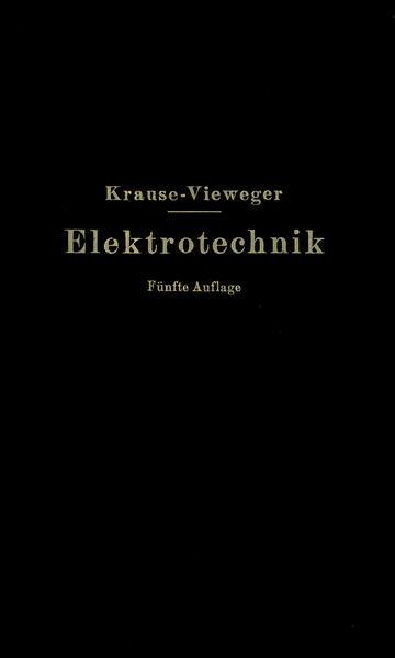 Kurzer Leitfaden der Elektrotechnik in allgemeinverständlicher Darstellung für Unterricht und Praxis - Coverbild