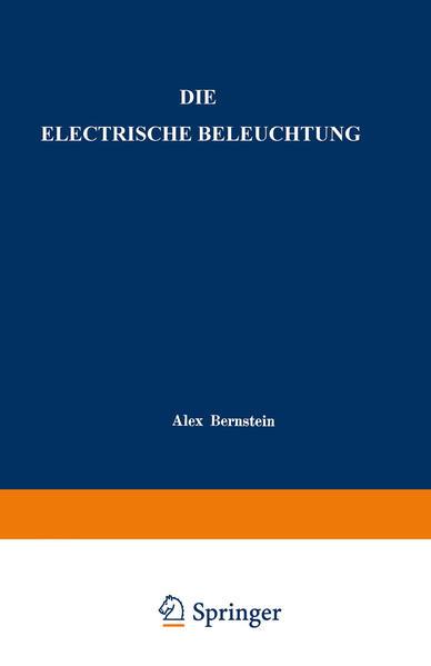 Die Electrische Beleuchtung - Coverbild
