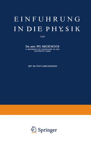 Einführung in die Physik - Coverbild