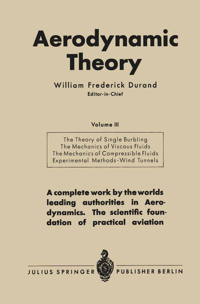 Aerodynamic Theory - Coverbild