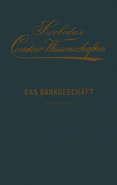 Das Bankgeschäft - Coverbild