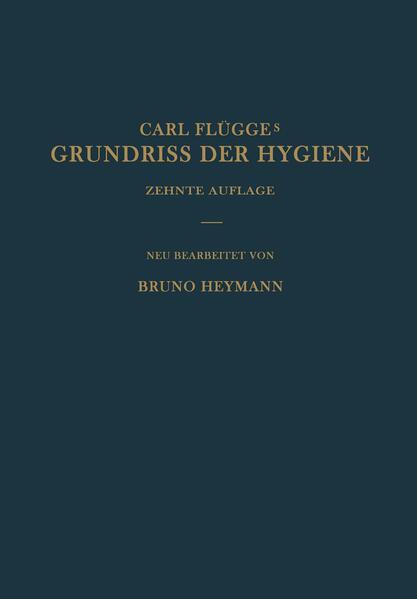 Grundriss der Hygiene - Coverbild