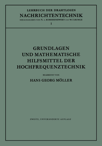 Grundlagen und mathematische Hilfsmittel der Hochfrequenztechnik - Coverbild