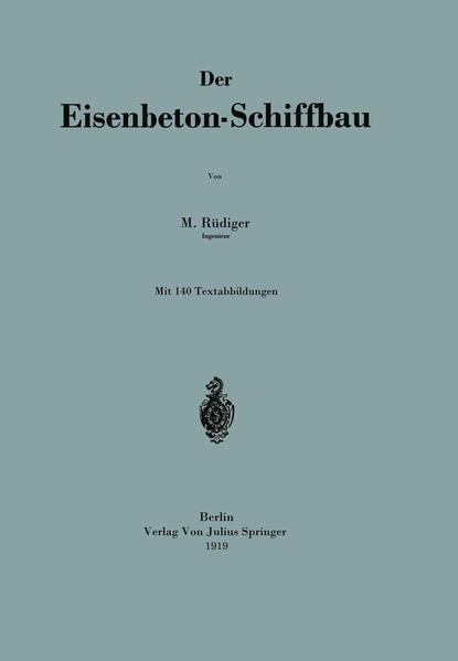 Der Eisenbeton-Schiffbau - Coverbild