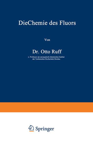 Die Chemie des Fluors - Coverbild