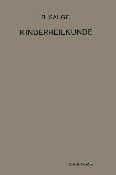 Einführung in die Kinderheilkunde - Coverbild