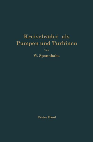 Kreiselräder als Pumpen und Turbinen - Coverbild