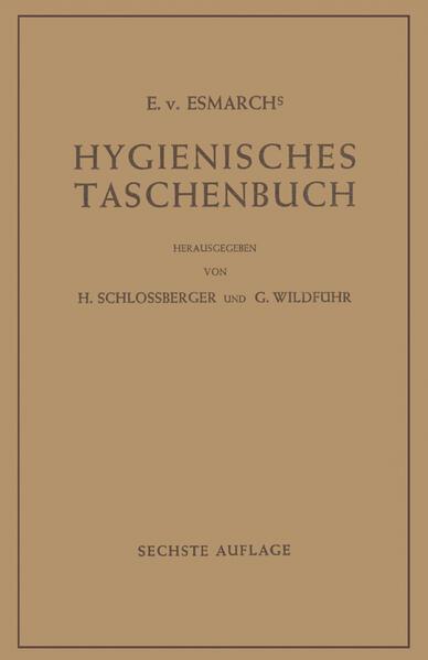 Hygienisches Taschenbuch - Coverbild