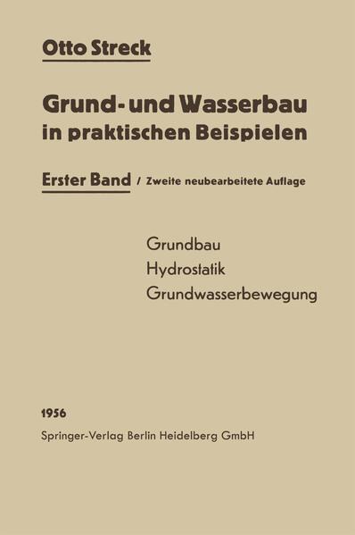 Grund- und Wasserbau in praktischen Beispielen - Coverbild