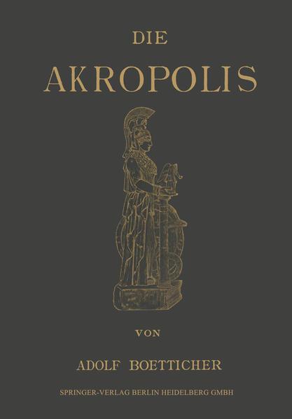 Die Akropolis von Athen - Coverbild