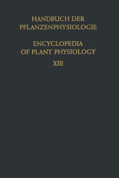 Der Stofftransport in der Pflanze / Translocation in Plants - Coverbild