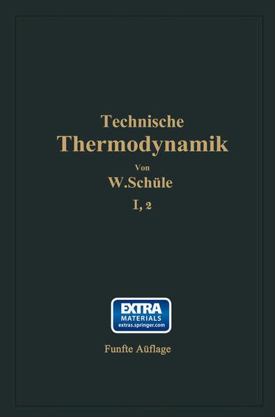 Technische Thermodynamik - Coverbild