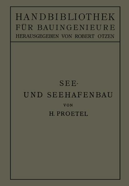 See- und Seehafenbau - Coverbild