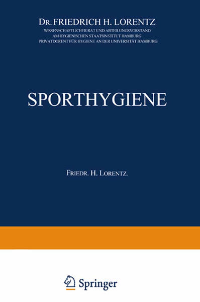 Sporthygiene - Coverbild