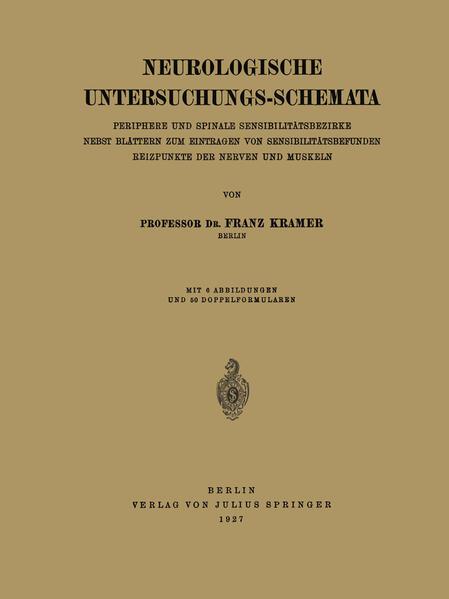 Neurologische Untersuchungs-Schemata - Coverbild